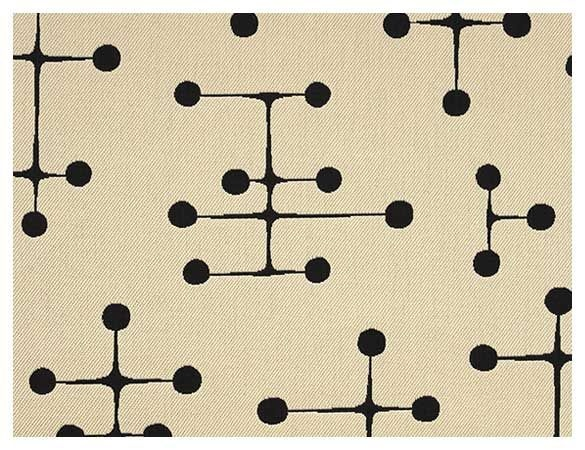 Evoking Little Antennas From Old Timey Black And White TVs Charles Ray Eames Created This Timeless Mid Century Pattern In