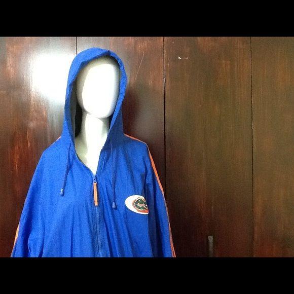 Rain coat Florida Gators 100% polyvinyl chloride Florida gator fully lined rain jacket. Florida gator Jackets & Coats Utility Jackets