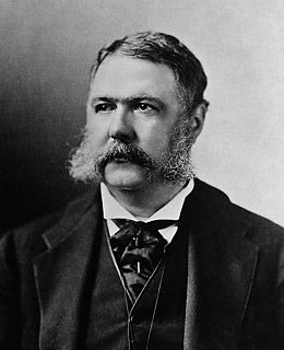 Chester Arthur, Born October 5, 1829, was one of five Presidents who was never elected — he took office after James Garfield's assassination and served nearly a full term as the 21st President of the United States.
