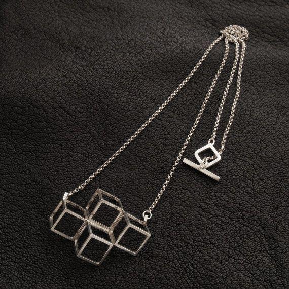 Open Perspective necklace. sterling silver. www.aimeesutanto.com