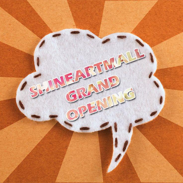 Shine Art's Online Shopping Mall is coming soon! www.shineartmall.com