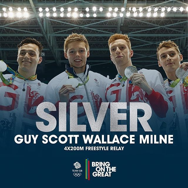 A #TeamGB medal 108 years in the making! #Silver #Swimming #Rio2016…