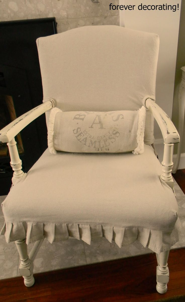 Cozy cottage slipcovers new office chair slipcovers - I Love This Slipcover From Forever Decorating