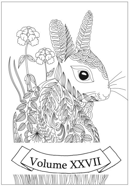 chubby bunny coloring pages - photo#33