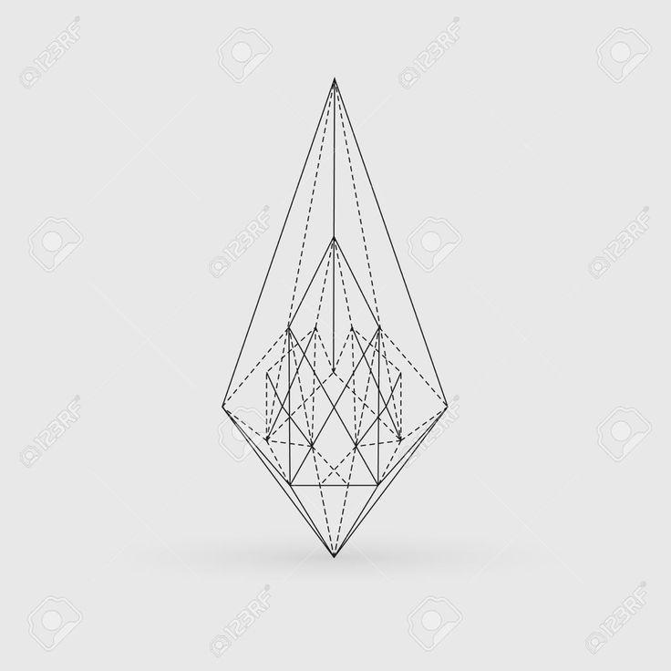 Geometric Line Drawing Tattoo : Best geometric line tattoo ideas on pinterest
