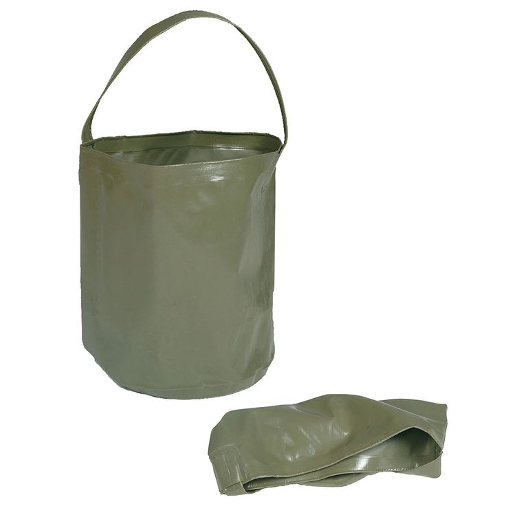 Wassereimer faltbar 10 l oliv