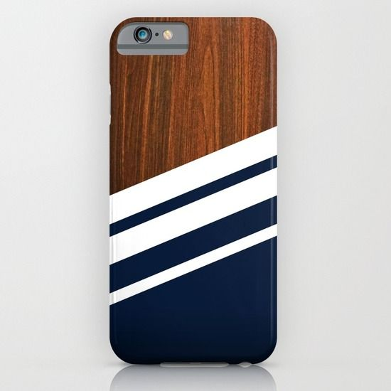 #iphone #iphone6 #iphone7 #iphone8 #smartphone #case #iphonecase #wooden #navy #stripes #striped #blue #wood