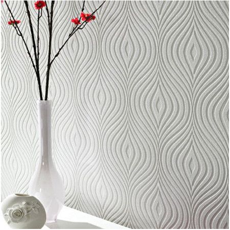 Paint over this delightful textured wallpaper for an embossed look in any color. Whether you're highlighting a bold gallery or adding dimension to the kitche...