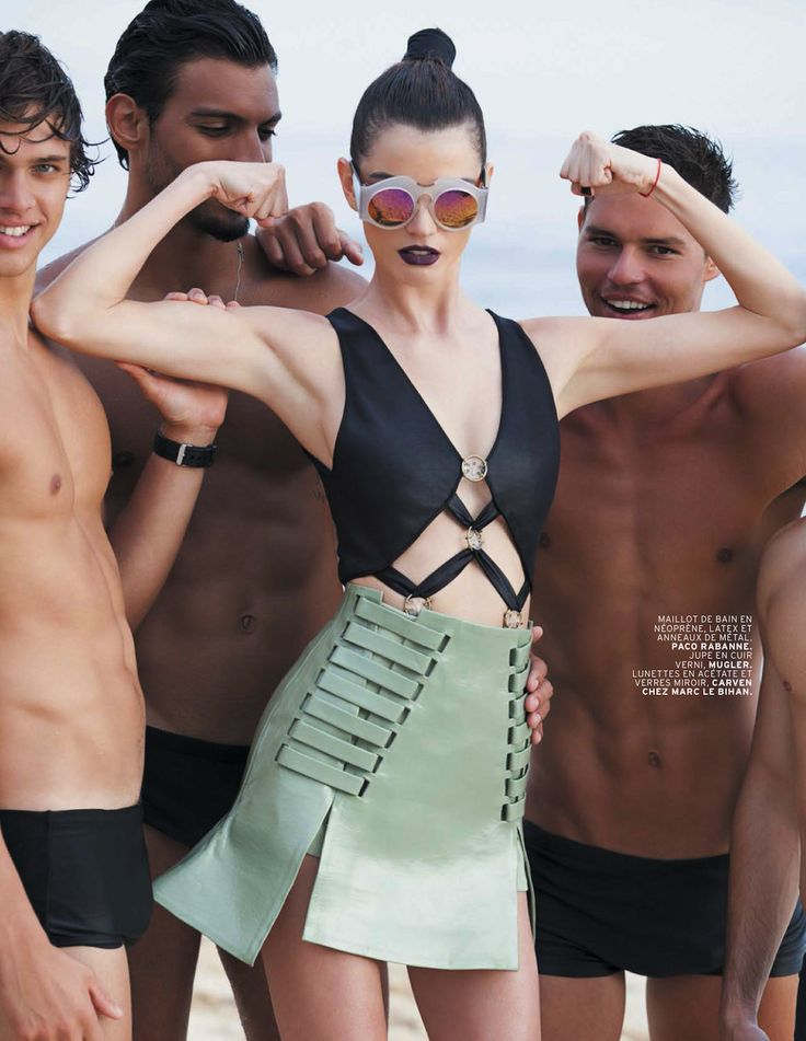 physical: jeisa chiminazzo by michael roberts for lofficiel paris may 2013 | visual optimism; fashion editorials, shows, campaigns & more!