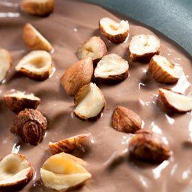 Chocolate and hazelnut mousse