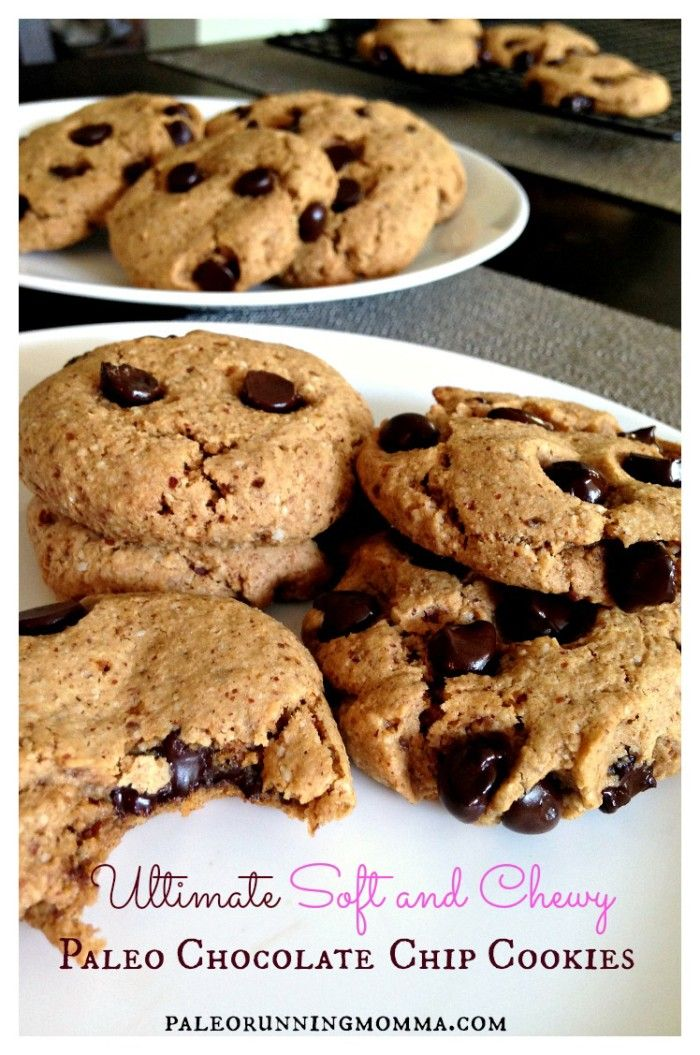 The Ultimate Soft and Chewy Paleo Chocolate Chip Cookies - gluten free, grain free, dairy free, soy free, paleo