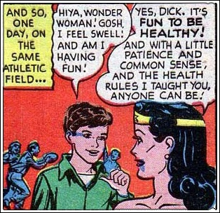 Fun to be healthy!: Woman Rules, Wonder Woman