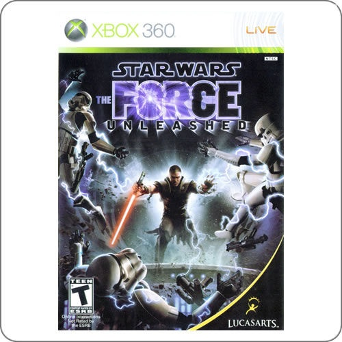 Xbox 360 Star Wars The Force Unleashed R$84.90