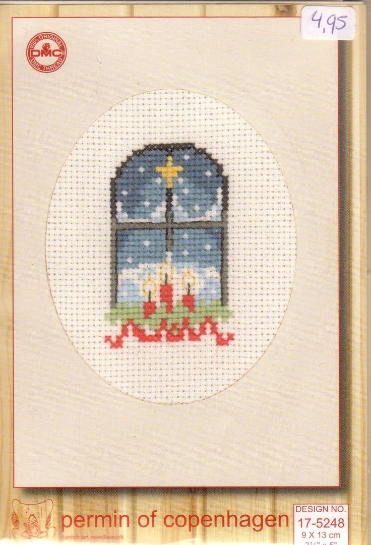Snowy Night Through the Window • 1/2 Design