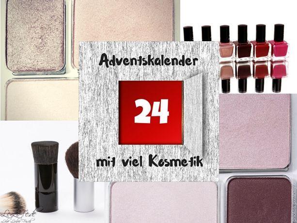 Adventskalender mit Farbe: Adventskalender mit Kosmetik ⋆ LeLiFe  Kosmetik Adventskalender mit Makeup und Nagellack by @lebelieberfesch