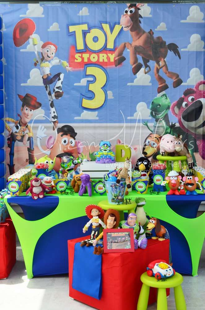 Toy Story Birthday Party : Toy story birthday party ideas toys birthdays and
