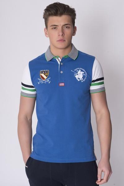 ALBANY POLO SHIRT ROYAL BLUE