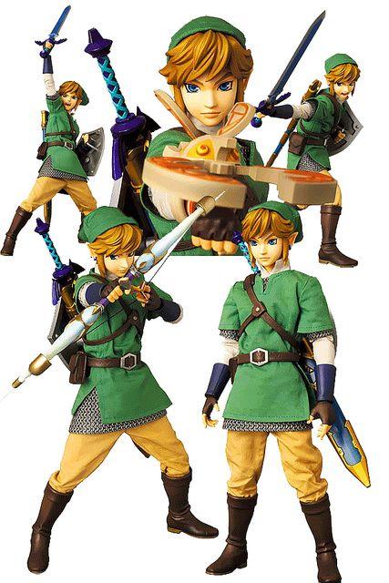 legend of zelda action figures | Legend of Zelda Medicom RAH 12 Inch Action Figure Link | Flickr ...