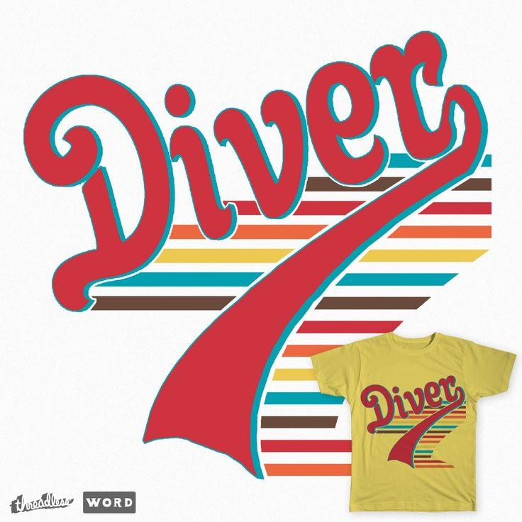 Diver - Vintage on Threadless