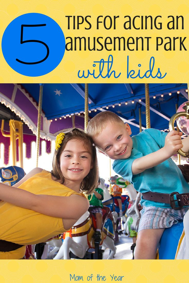 Headed to the amusement with kids? It can seem daunting, but with these 5 savvy tips from parents who have done it tons of times over, you can have a great, (semi) non-stressful day! Study up and get then get the fun on!