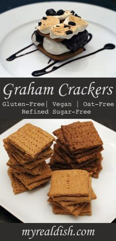 Graham Crackers (Vegan, Oat-Free & Gluten-Free)