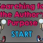This is a fun, creative, and engaging game to test your students' knowledge of identifying the author's purpose.