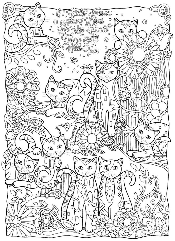 Контур. р | Книжка-раскраска, Раскраски с животными, Раскраски