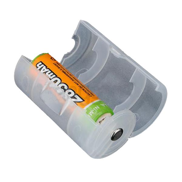 Aa Translucido Para D Pila Tipo Soporte Del Adaptador Caja Cubierta Best Battery Charger Rechargeable Battery Charger Aaa Battery Charger