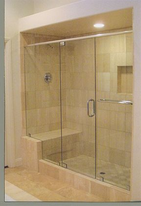 27 best Our Work images on Pinterest   Glass showers, Las vegas and ...