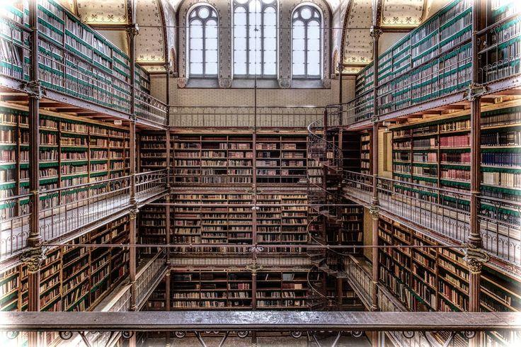 De 10 mooiste bibliotheken van Nederland.