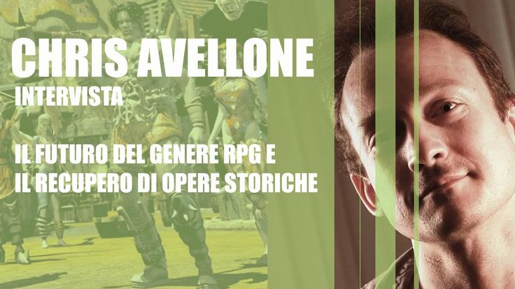 Interview with Chris Avellone (Baulders Gate Planetscape New Vegas) by Geekgamer. Interview is both in Italian and English