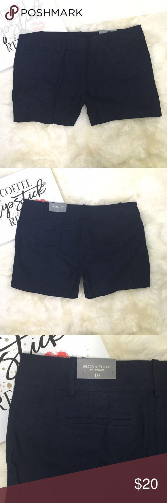 Ann Taylor Factory Signature Blue Shorts 18 Ann Taylor Factory Signature Womens Blue Shorts Plus Size 18   Details: This short is from the Ann Taylor Outlet   Condition: New with Tag  Size: 18 Color: Blue Materials: 85% Cotton, 8% Linen, 7% Rayon  Measurements in INCHES and laying flat (approximate) Waist: 20.75 Inseam: 4.5 Rise: 12 🌸BUNDLE AND SAVE  🌸NO TRADES 🌸REASONABLE OFFERS CONSIDERED  🌸FEEL FREE TO ASK QUESTIONS 🌸I DO NOT MODEL Ann Taylor Shorts