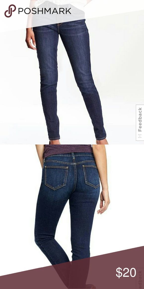 Old Navy Jeans NWT Old Navy Curvy Profile, Skinny Jeans. Mid-Rise. Size 14. Old Navy Jeans Skinny