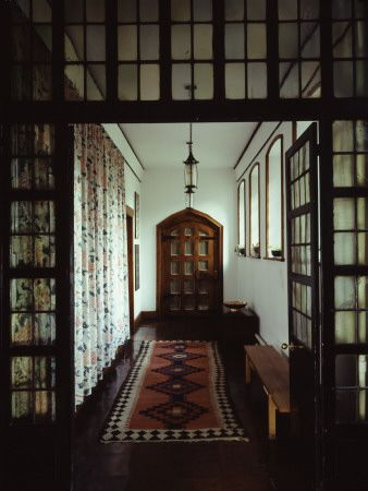 Hallway at The Red House, designed by Phillip Webb.