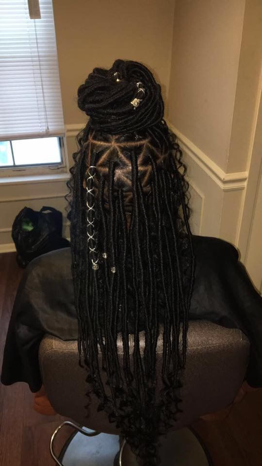 96 Best Goddess Faux Locs Images On Pinterest African