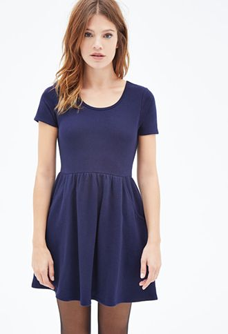 French Terry Pocket Dress   FOREVER21 - 2000081789