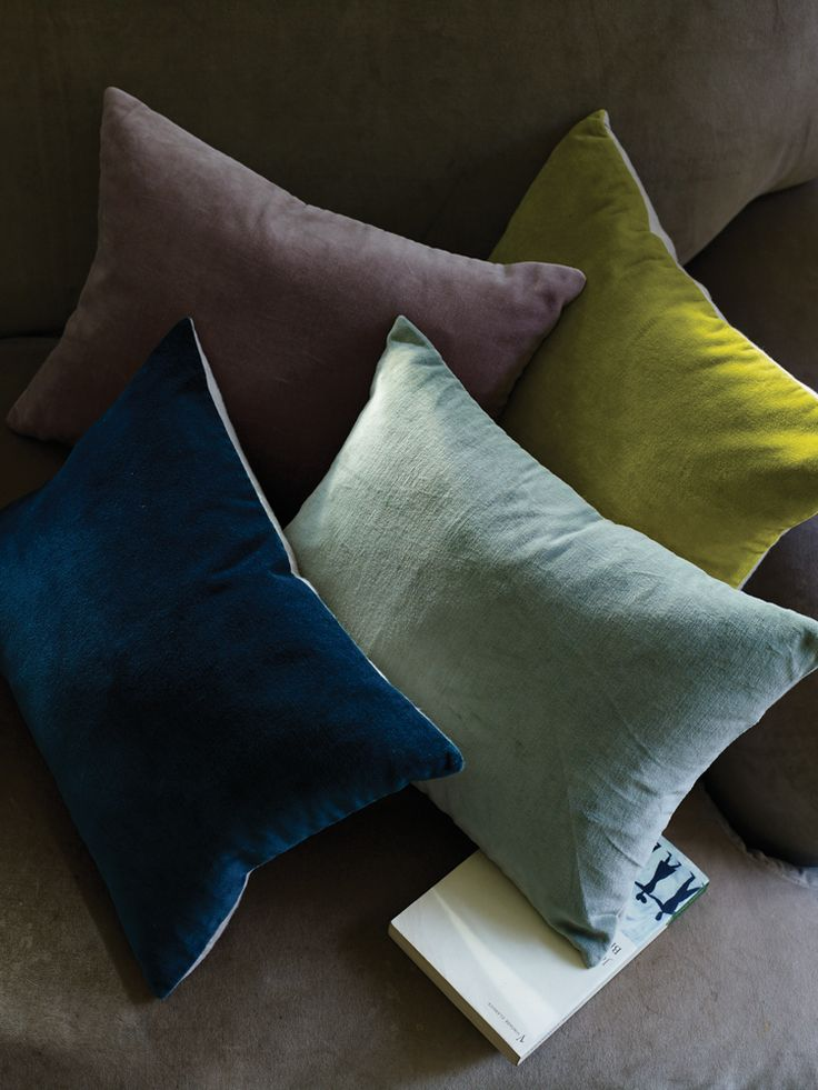 Velvet and Linen Cushion Covers - Cushions & Throws - Decorative Home - INDOOR LIVING