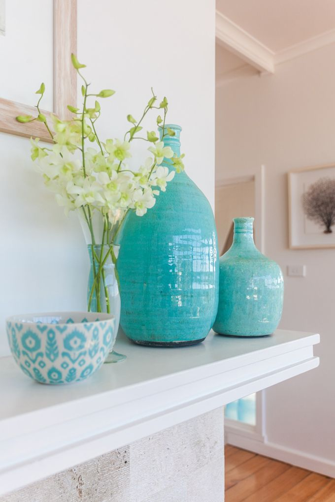 This makes me think of a good friend of mine, it's so her style!  House of Turquoise: Coastal Style Blog