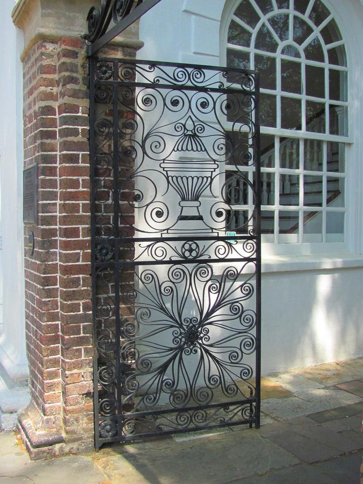221 Best Charleston Gates Images On Pinterest Charleston