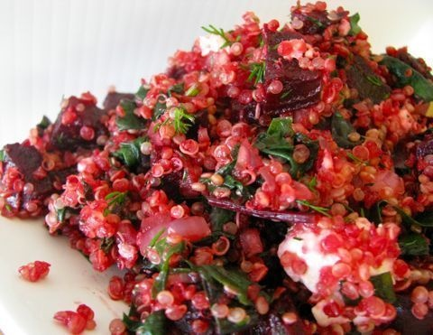 Beet and feta quinoa salad | Tasty Cuisine | Pinterest