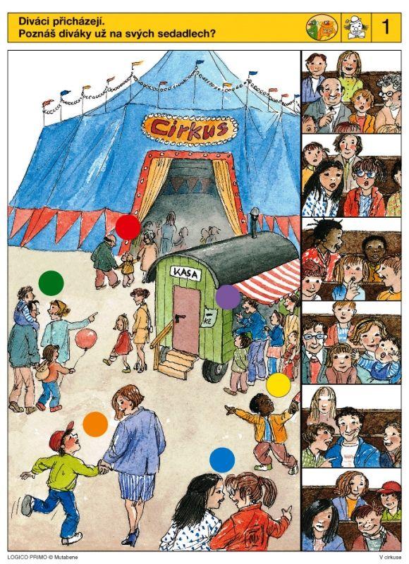 LOGICO PRIMO | V cirkuse | Didaktické pomůcky a hračky - AMOSEK