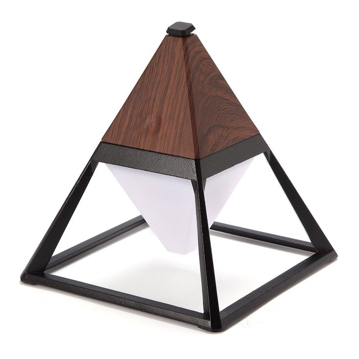 Jeteven Pyramid LED Desk Lamp Eye-care Table Reading Light 3 Mode Touch Control IP63 Waterproof with USB Charging Port for Bedroom Living Room Kids Room Office 2000mA Dark Wood. It can protect your eyes when it is beside the computer at night. As atmosphere light when it is hung on the way. Extending lighting area when it is put side direction. The light can be taken outside and use for camping or hung in the tree. As floodlight, it won't be straight across your eye. As emergency light to...