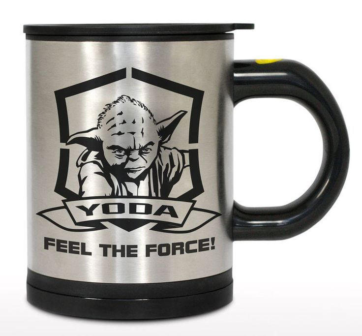 Star Wars Selbstumrührende Thermotasse Yoda