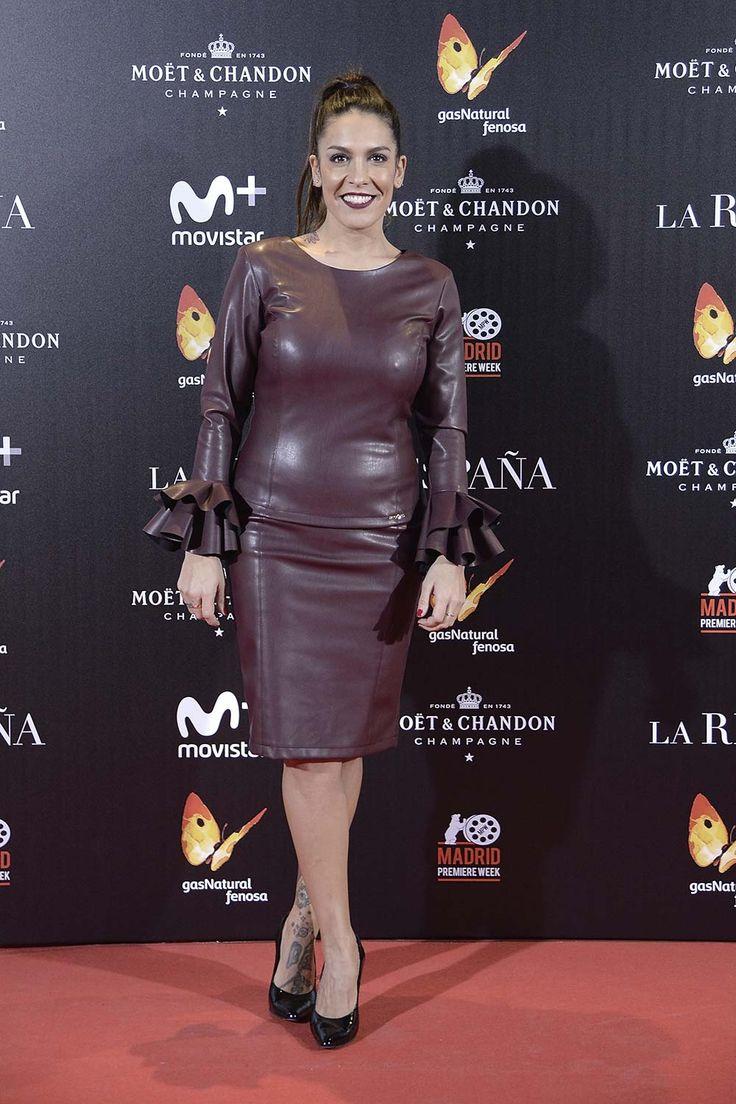 Lorena Castell attends La Reina de Espana premiere at Callao City Lights on November 24, 2016 in Madrid, Spain.