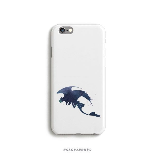 Toothless How To Train Your Dragon Case Phone iPhone 6 6s Plus 5 5s 5c 4 4s Samsung Galaxy S5 S6 Edge Watercolor Silhouette Blue Action Film by Colorinches on Etsy https://www.etsy.com/listing/252611990/toothless-how-to-train-your-dragon-case