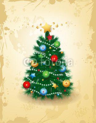 Christmas tree,  #vector #stockimage