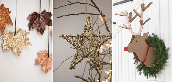 Resultado de imagen para decoracion navidad ideas originales