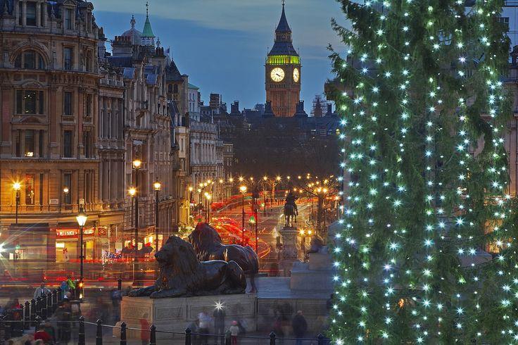 """Regno Unito, Londra, Trafalgar Square, Autunno 2015 Whitehall è una strada che va dalla parte sud di Trafalgar Square in direzione di piazza del Parlamento. E' riconosciuta come il centro del governo di Sua Maestà. Questa strada è fiancheggiata da dipartimenti governativi e ministeri; il nome di """"Whitehall"""" è quindi anche spesso usato come metonimia per l'amministrazione governativa britannica centrale, oltre ad essere un nome geografico per l'area circostante. Prende il dal vasto…"""