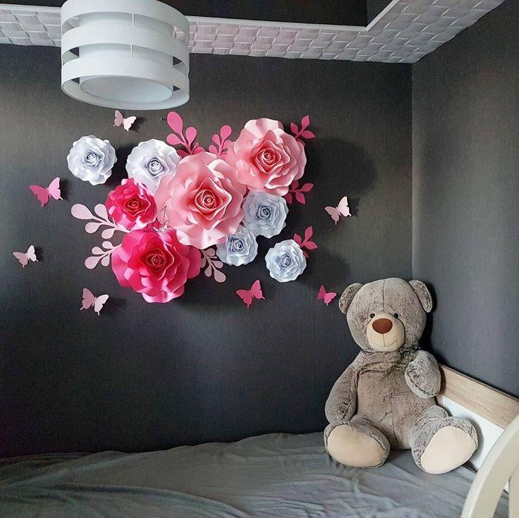 198 отметок «Нравится», 4 комментариев — Cvece od papira by Jovana (@jojodizajn) в Instagram: «Dizajnirali smo dekoraciju specijalno za malu Viktoriju. Pisite mi u dm i mozemo da napravimo…»