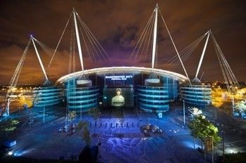 Power-Ranking World Football's 50 Best Stadiums.  Etihad Stadium: Manchester, England   Opened: 2003    Capacity: 47,000+    Tenants: Manchester City FC    Home to the current English Premier League Champions, the once-titled City of Manchester Stadium is was at times forgotten as one of the best stadiums in northern England thanks to rivals Manchester United.    However, the club's recent return to success has seen the venue garner more praise as a top level venue in the world of football.